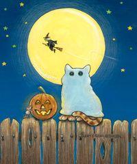 Boo Halloween Cards