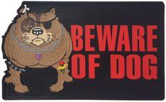 """All Weather """"Beware of Dog"""" Door Mat"""