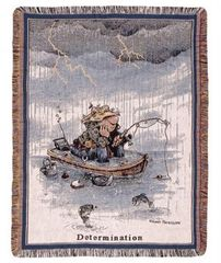 """Dedication"" Tapestry Throw"