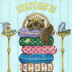 Better Life Cat Magnet