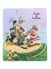 High & Inside Mouse Pad