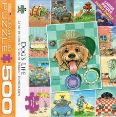 Dog's Life Collage Puzzle