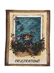"""Frustration!!"" Wall Hanging Tapestry"