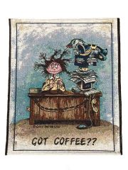 """Got Coffee??"" Wall Hanging Tapestry"