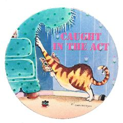 Caught In The Act Absorbent Coaster Set