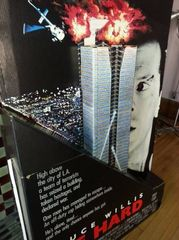 DIE HARD movie advertising Standee 65 inches tall!!