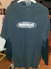 "*Vintage* Rare t-shirt X-Large ""Don't F*ck with WAREHOUSE"""