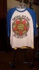 BRING ME THE HORIZON inverted star monster baseball shirt SMALL raided from Kodie Testa of Narrow Hearts