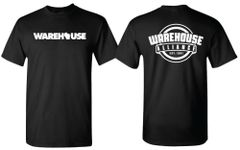 *NEW* WAREHOUSE & WAREHOUSE ALLIANCE T-shirt black
