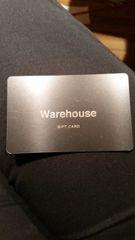 $20 Warehouse Gift Card