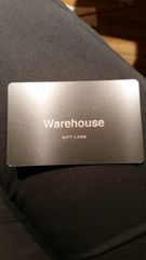 $100 Warehouse Gift Card