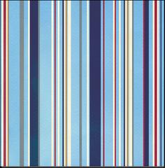 Creative Imaginations Marine Stripe (Crusin' Collection)