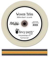 Fancy Pants 1 Inch Woven Trim (Oct 31 Collection)