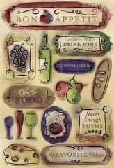 Karen Foster Bon Appetit Cardstock Stickers (Bon Appetit Collection)