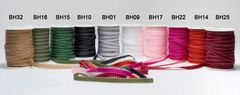 May Arts Ribbon 3/8 Inch Grosgrain Stitched Edge Ribbon