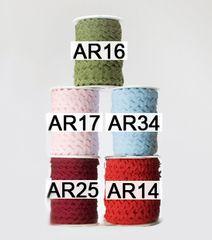 May Arts Ribbon 1/4 Inch Ric Rac Ribbon