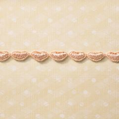 Webster's Pages 1/4 Inch Pink Hearts Trim (In Love Collection)