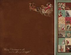 KaiserCraft Sleigh ('Tis The Season Collection)