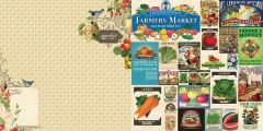 Webster's Pages Market Menu (Spring Market Collection)