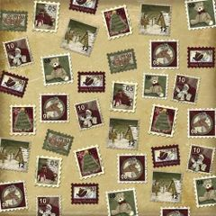 Karen Foster Christmas Stamps (Christmas Collection)