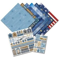 Creative Imaginations U.S. Navy Scrapbook Kit (Signature Military Collection)