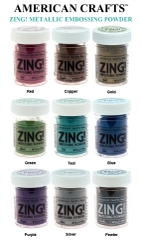 American Crafts Zing Metallic Embossing Powder