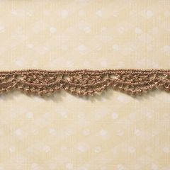 Webster's Pages 1/2 Inch Taupe Drop Scallop Trim (Everyday Poetry Collection)