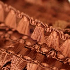Prima 1/2 Inch Brown Tassel Trim