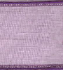 Kirkland Ribbon 1.5 Inch Purple Sheer Wired Edge Ribbon