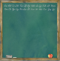 Creative Imaginations Chalkboard (It's Elementary Collection)