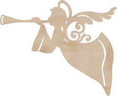 KaiserCraft Wooden Flourishes Angel
