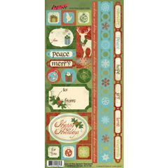 Moxxie Joys of the Season Elements Cardstock Stickers (Joys of the Season Collection)