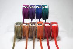 May Arts Ribbon 3/8 Inch Solid Two Tone Ribbon
