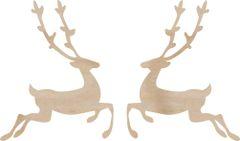 KaiserCraft Wooden Flourishes Reindeer