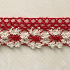 Webster's Pages 1.25 Inch Market Red Trim (Spring Market Collection)