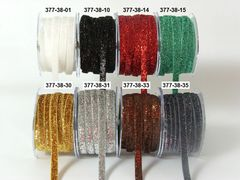 May Arts Ribbon 3/8 Inch Metallic / Velvet Ribbon