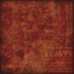 Karen Foster Season of Color Collage (Autumn Collection)