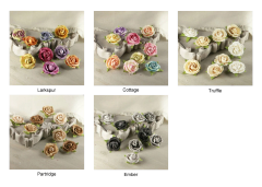 Prima Flowers Mulberry Paper Roses (Sherwood Collection)