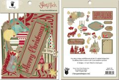 Fancy Pants Design Embellishments (Saint Nick Collection)