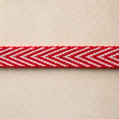 Webster's Pages 1/2 Inch Red Yacht Trim (Yacht Club Collection)