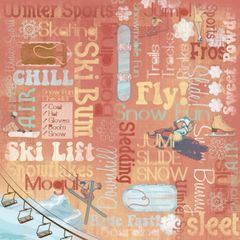 Karen Foster Winter Sports Collage (Winter Sports Collection)