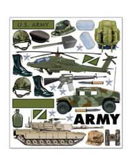 Creative Imaginations Army Equipment Stickers