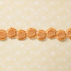 Webster's Pages 1/2 Inch Orange Sunburts Trim (Sunday Picnic Collection)