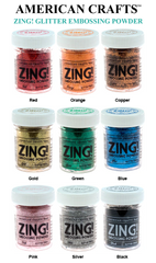 American Crafts Zing Glitter Embossing Powder