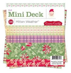 Cosmo Cricket 6 x 6 Mini Deck (Mitten Weather Collection)