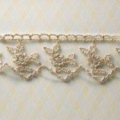 Webster's Pages 1.5 Inch Gold Sparkling Trim (Winter Fairy Tales Collection)