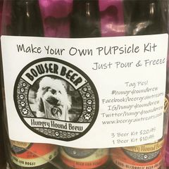 MAKE YOUR OWN PUPSICLE with Hungry Hound Brew