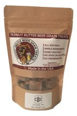 Beer Grain Bites Peanut Butter