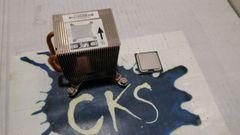 INTEL SLA8W / E2220 PENTIUM DUAL CORE 2.40GHZ / 1M / 800MHZ FSB / LGA775 WITH HP 450666-001 HEATSINK ( Refurbished ) S24