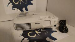 ( Sold Out!) Epson EX31 Model H309A, 302 LAMP HOURS,POWER CORD PROJECTOR HAS NO REMOTE PROJECTOR SHIPS WITH POWER CORD ONLY